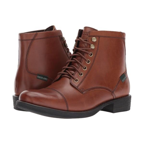 イーストランド メンズ ブーツ&レインブーツ シューズ High Fidelity Tan Leather
