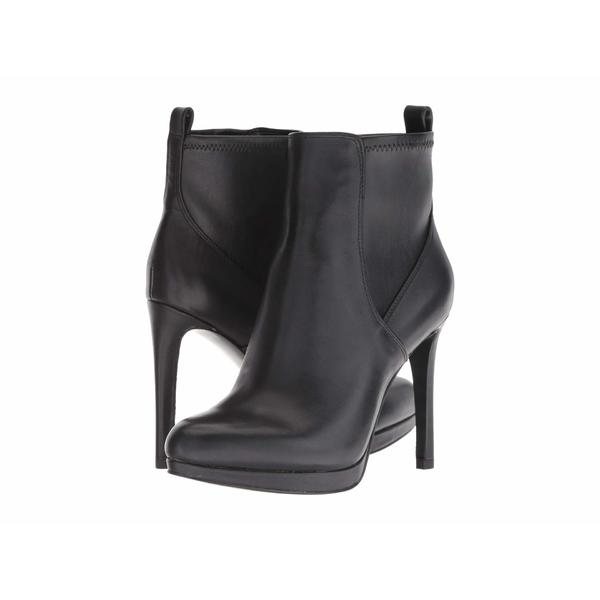 ナインウェスト レディース ブーツ&レインブーツ シューズ Quillin Black Leather