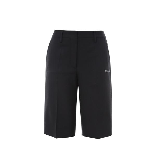 オフホワイト レディース ボトムス セール品 カジュアルパンツ - 割り引き 全商品無料サイズ交換 Print Shorts Bermuda Off-White Logo