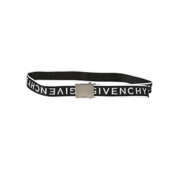 ジバンシー メンズ ベルト アクセサリー Givenchy Logo Strap Print Belt -