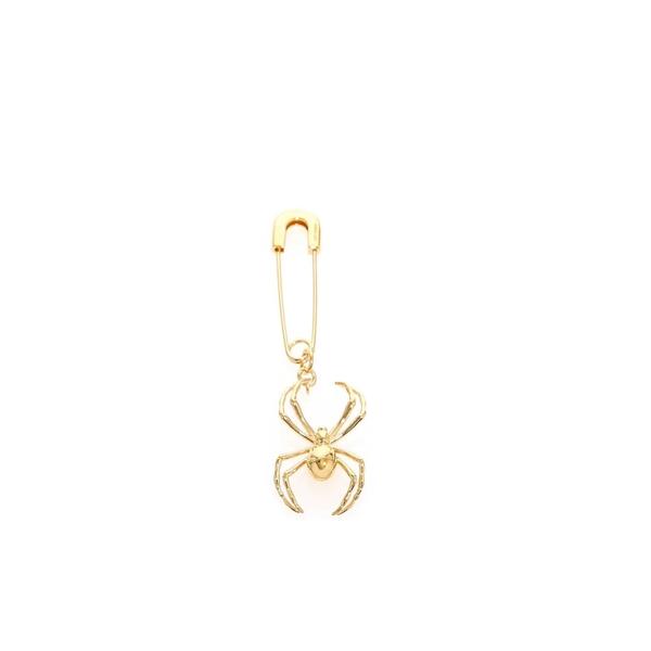 アンブッシュ レディース ピアス&イヤリング アクセサリー AMBUSH Spieder Gold Earring -