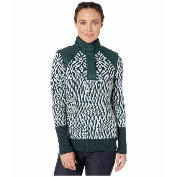 スマートウール レディース ニット&セーター アウター Ski Ninja Pullover Sweater Frosty Green Heather