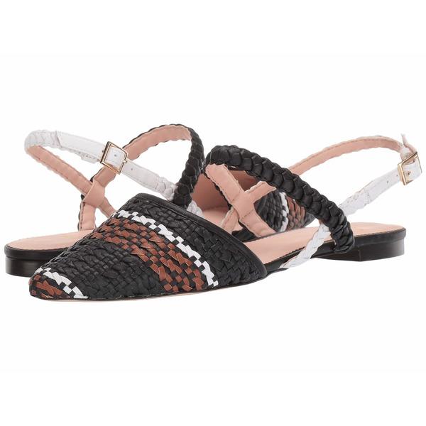 ジェイクルー レディース サンダル シューズ Woven Marina Slide with Ankle Strap Black