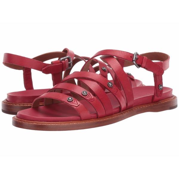 フライ レディース サンダル シューズ Alexa Strappy Sandal Red