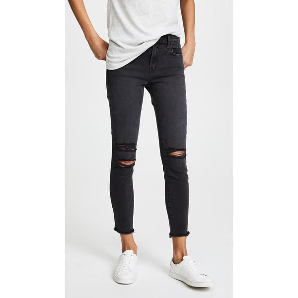 ジェイブランド レディース デニムパンツ ボトムス Photo Ready Cropped Mid Rise Skinny Jeans Mercy