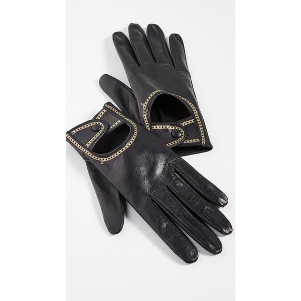 ジマーマン レディース 手袋 アクセサリー Gloves Black/Gold