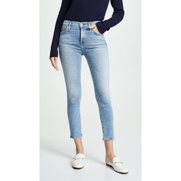 シチズンズ オブ ヒューマニティ レディース デニムパンツ ボトムス Rocket Crop High Rise Skinny Jeans Serenity