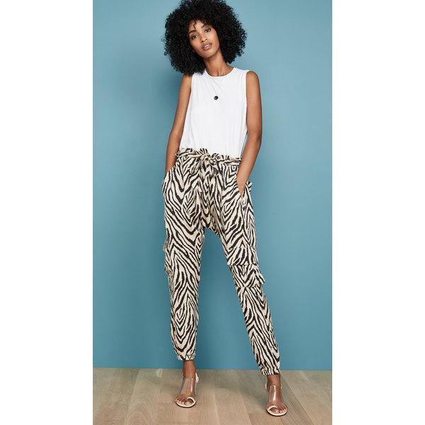 カレント エリオット レディース カジュアルパンツ ボトムス The Roxwell Pants Natural Zebra Print