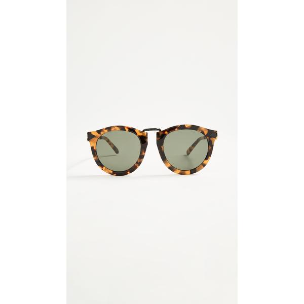 カレンウォーカー レディース サングラス&アイウェア アクセサリー Harvest Sunglasses Crazy Tort/Smoke Mono