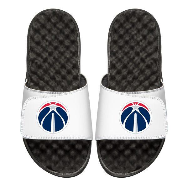 アイスライド メンズ サンダル シューズ Washington Wizards Primary iSlide Sandals White