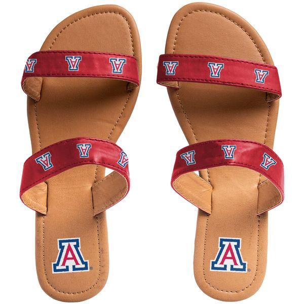 フォコ レディース サンダル シューズ Arizona Wildcats Women's Double Strap Sandals