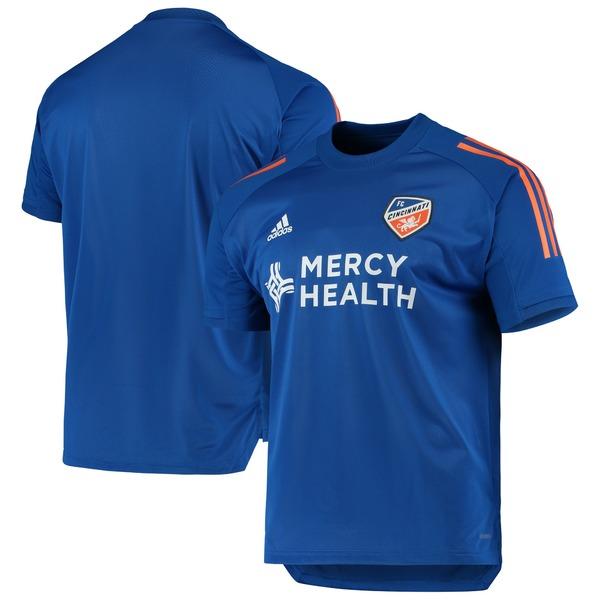 アディダス メンズ ユニフォーム トップス FC Cincinnati adidas 2020 OnField Training Jersey Blue