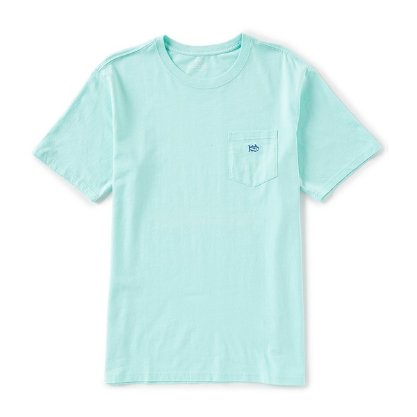 サウザーンタイド メンズ Tシャツ トップス Embroidered Outline Skipjack Short-Sleeve Tee Offshore Green