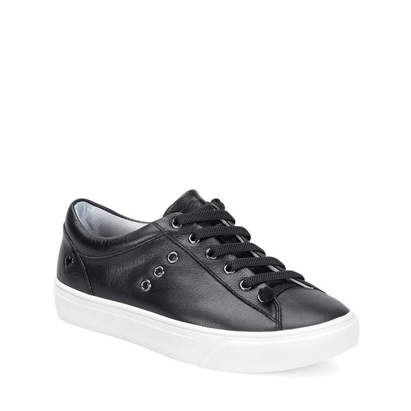 ナースメイト レディース スニーカー シューズ Fenton Leather Sneakers Black