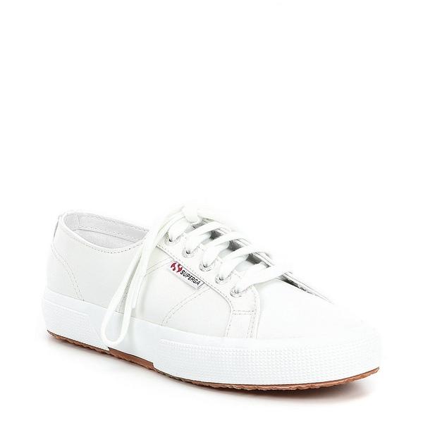 スペルガ レディース スニーカー シューズ Women's 2750 Nappa Leather Sneakers White