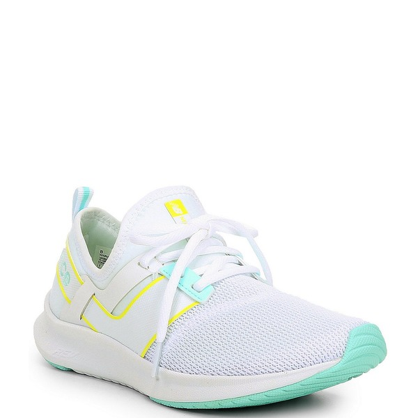 ニューバランス レディース スニーカー シューズ Women's NB Nergize Sport Lifestyle Shoes White/Bali Blue