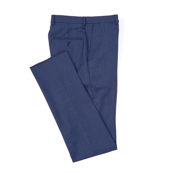 <title>ハートシャファネールマークス メンズ ボトムス ランキングTOP5 カジュアルパンツ Blue 全商品無料サイズ交換 New York Tailored Modern Fit Wool Flat-Front Dress Pants</title>