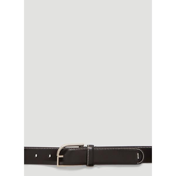 マルタンマルジェラ メンズ ベルト アクセサリー Maison Margiel Stitch-Detailed Belt -