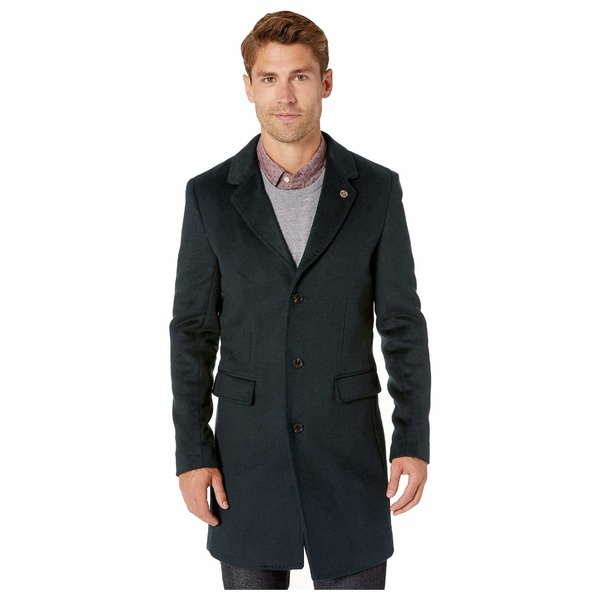 スコッチアンドソーダ メンズ コート アウター Classic Single Breasted Coat Atlas Green
