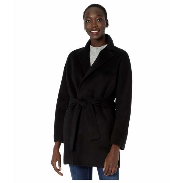 ヴィンス レディース コート アウター Belted Cardigan Coat Black