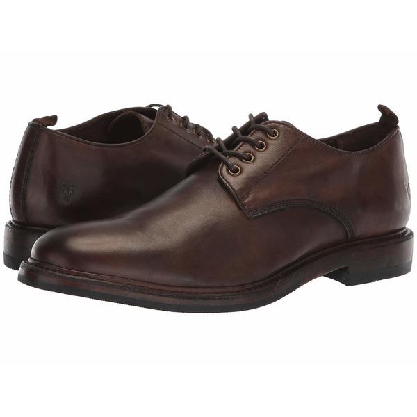 フライ メンズ ドレスシューズ シューズ Murray Oxford Brown Washed Dip-Dye Leather