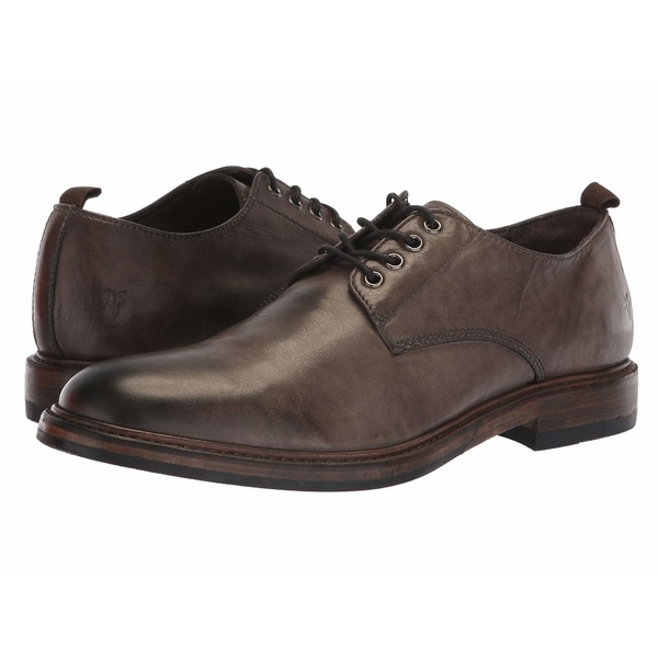フライ メンズ ドレスシューズ シューズ Murray Oxford Grey Washed Dip-Dye Leather