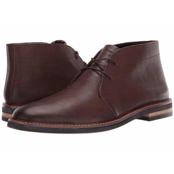 ボストニアン メンズ ブーツ&レインブーツ シューズ Dezmin Mid Dark Brown Leather