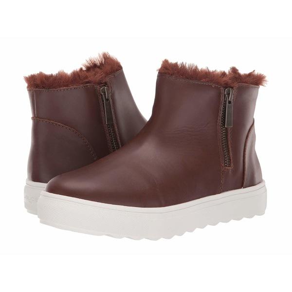 Jスライド レディース スニーカー シューズ Poppy Light Brown Waterproof Leather