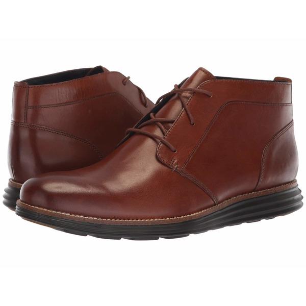 コールハーン メンズ ブーツ&レインブーツ シューズ Original Grand Chukka Woodbury Leather/Dark Roast