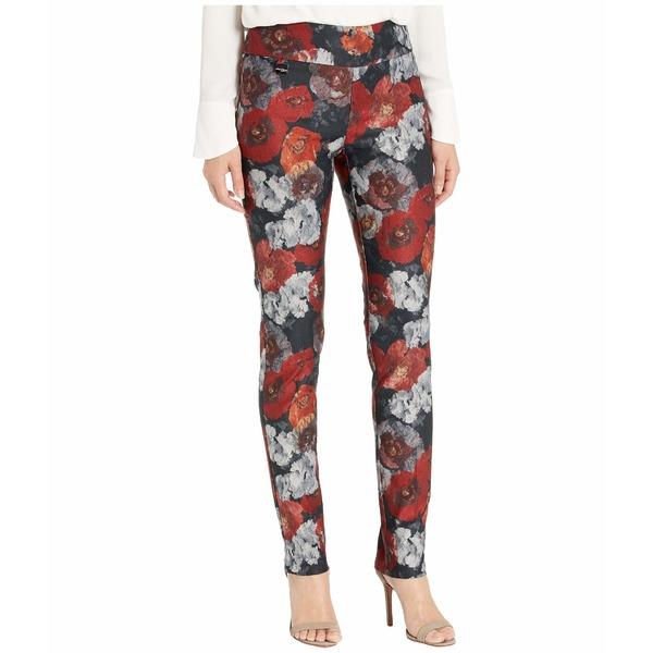 リセットエルモントリオール レディース カジュアルパンツ ボトムス Douro Floral Print Slim Pants Crimson
