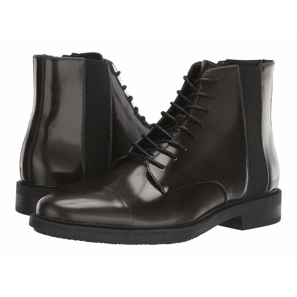 カルバンクライン メンズ ブーツ&レインブーツ シューズ Cronus Camouflage/Black Brush-Off Box Leather