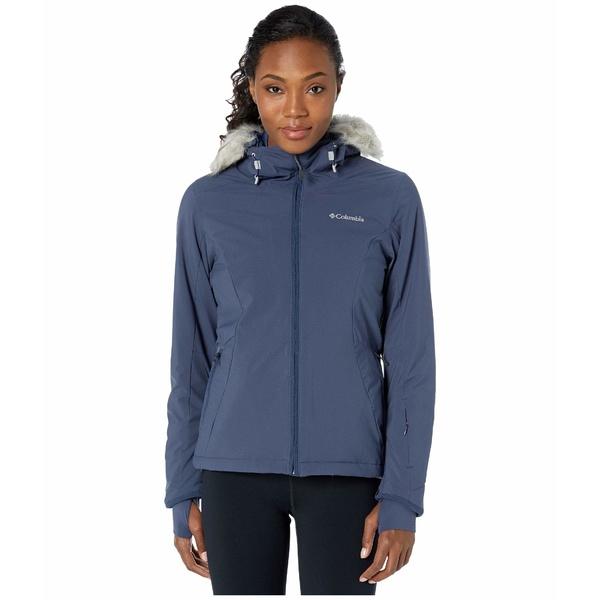 コロンビア レディース コート アウター Alpine Slide Jacket Nocturnal/Dark Nocturnal Heather
