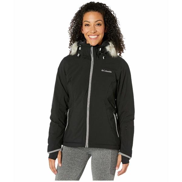 コロンビア レディース コート アウター Alpine Slide Jacket Black/City Grey Heather