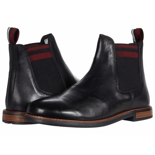 ベンシャーマン メンズ ブーツ&レインブーツ シューズ Brent Chelsea Black Leather