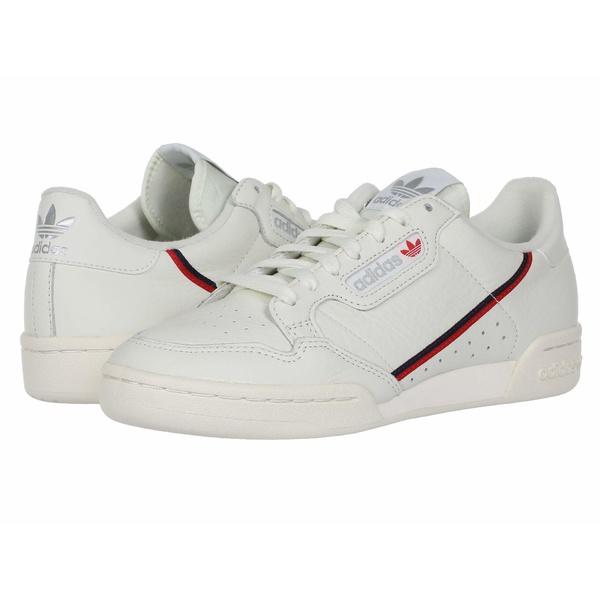 アディダスオリジナルス メンズ スニーカー シューズ Continental 80 White Tint S18/Off-White/Scarlet