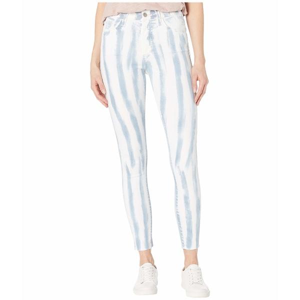 ジョーズジーンズ レディース デニムパンツ ボトムス Charlie Ankle Cut Hem Jeans in Tie-Dye Stripe Tie-Dye Stripe