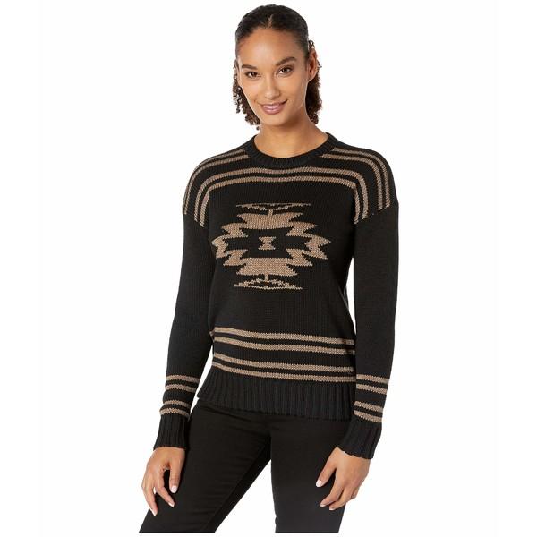 ラルフローレン レディース ニット&セーター アウター Cotton-Blend Graphic Sweater Polo Black/Gold