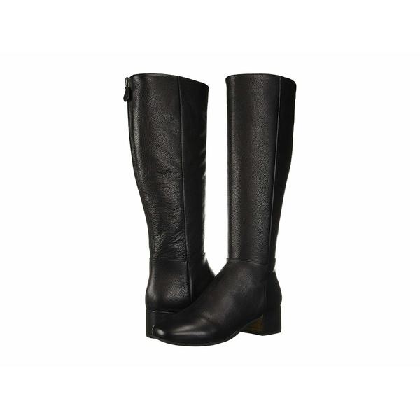 ケネスコール レディース ブーツ&レインブーツ シューズ Ella Back Zip Boot Black Leather