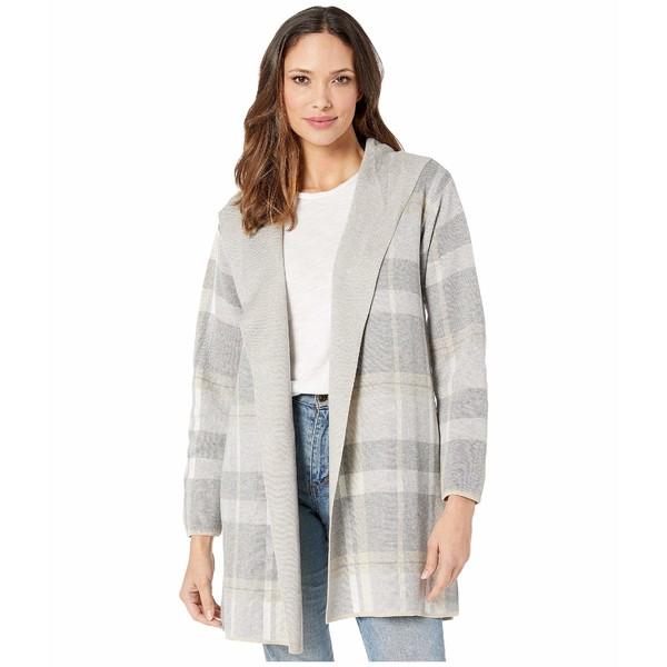 カルバンクライン レディース ニット&セーター アウター Hooded Sweater Jacket Grey Heather Multi