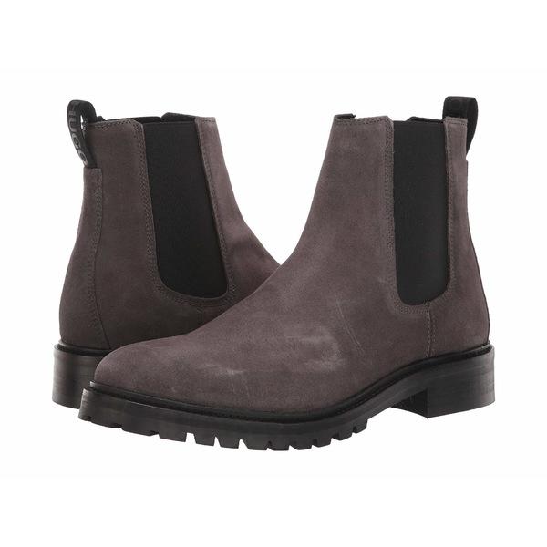 ヒューゴボス メンズ ブーツ&レインブーツ シューズ Explore Chelsea Boots Dark Grey