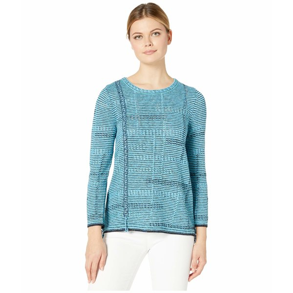 ニックプラスゾーイ レディース ニット&セーター アウター Line Of Work Sweater Turquoise