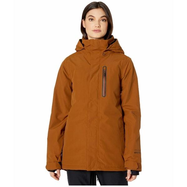 ボルコム レディース コート アウター Eva Insulated GORE-TEX Jacket Copper