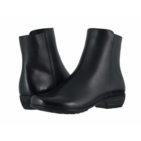 ウォーキング クレイドル レディース ブーツ&レインブーツ シューズ Elsie Black Leather