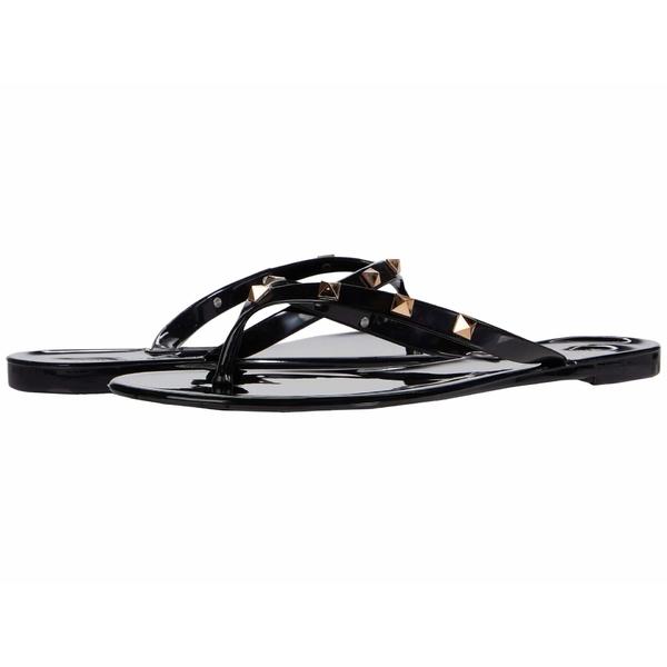 スティーブ マデン レディース サンダル シューズ Debut Flat Sandal Black
