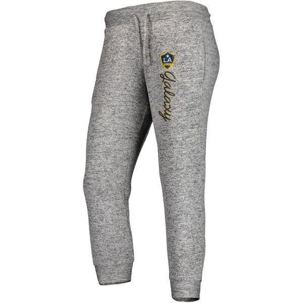 ファナティクス レディース カジュアルパンツ ボトムス LA Galaxy Fanatics Branded Women's Cozy Collection MLS Steadfast Crop Jogger Pant Heathered Gray