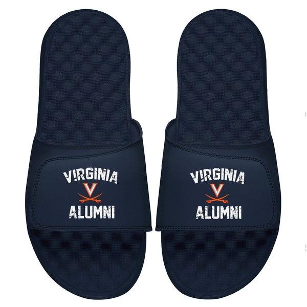 アイスライド メンズ サンダル シューズ Virginia Cavaliers ISlide College Alumni Slide Sandals Navy