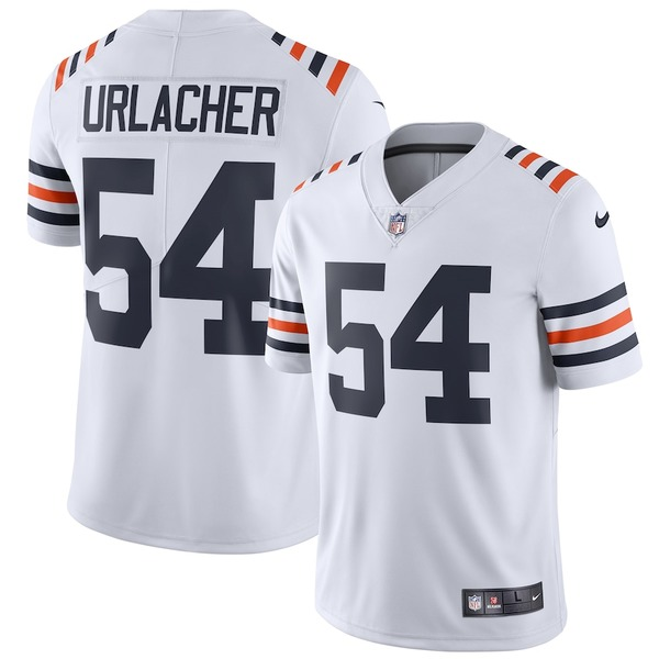 ナイキ メンズ シャツ トップス Brian Urlacher Chicago Bears Nike 2019 Alternate Classic Retired Player Limited Jersey White