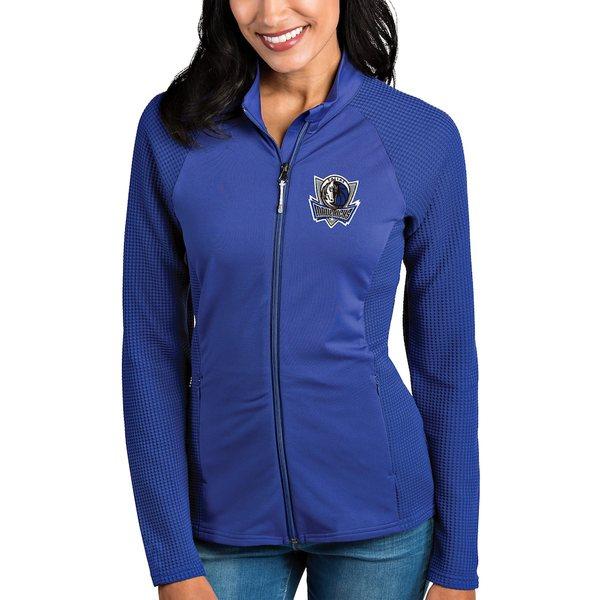 アンティグア レディース ジャケット&ブルゾン アウター Dallas Mavericks Antigua Women's Sonar Full-Zip Jacket Royal