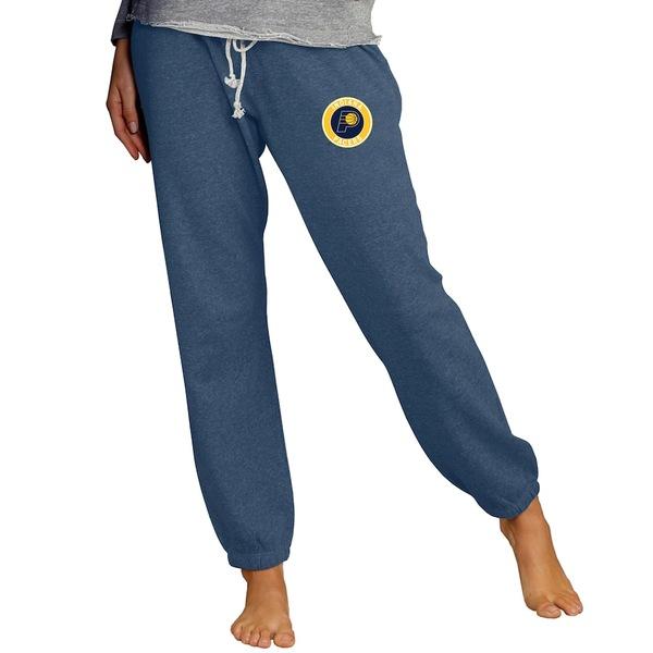 コンセプトスポーツ レディース カジュアルパンツ ボトムス Indiana Pacers Concepts Sport Women's Mainstream Knit Lounge Jogger Pants Navy