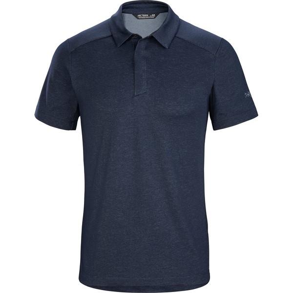 アークテリクス メンズ シャツ トップス Eris Polo Shirt - Men's Cobalt Moon